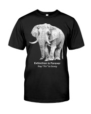 Elephants Classic T-Shirt front