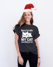 Cats Classic T-Shirt lifestyle-holiday-crewneck-front-1