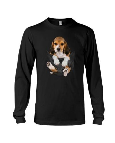 Beagle in pocket