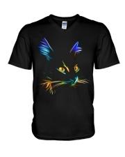 Cats V-Neck T-Shirt thumbnail