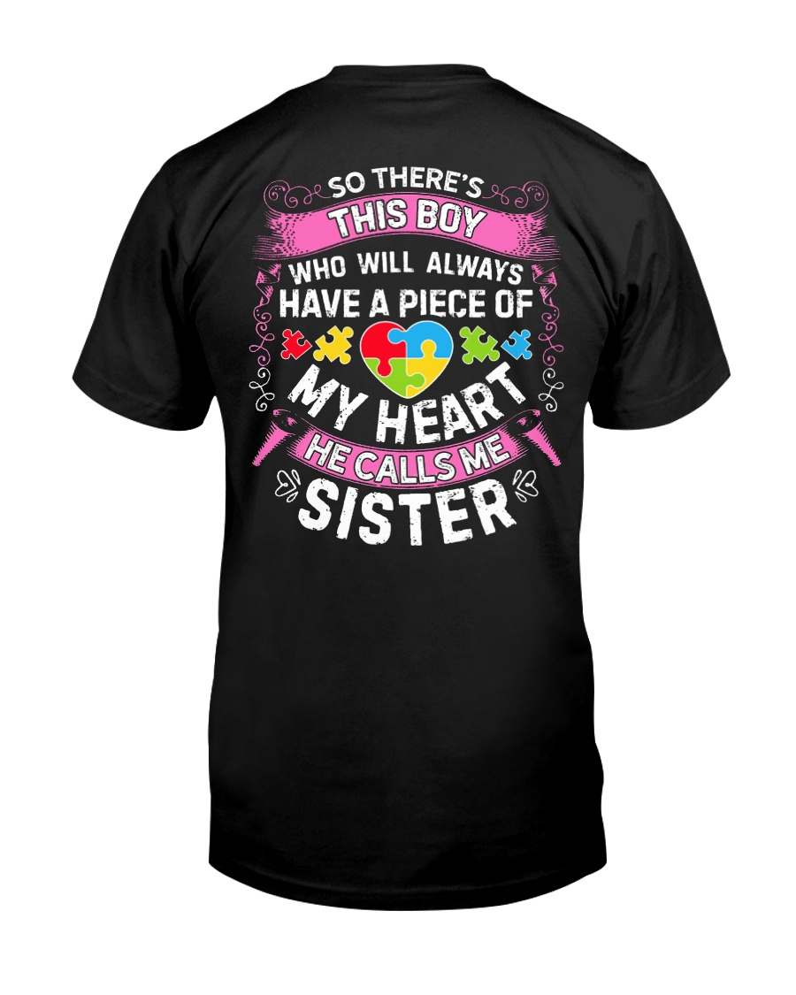 Autism Sister Classic T-Shirt