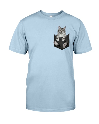 Cat Maine Coon Inside Pocket