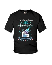 15 French Spent Birthday Youth T-Shirt thumbnail