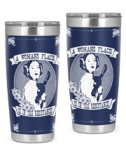 Woman's place navy tumbler 20oz Tumbler front