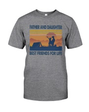 Camping Father Daughter Classic T-Shirt tile