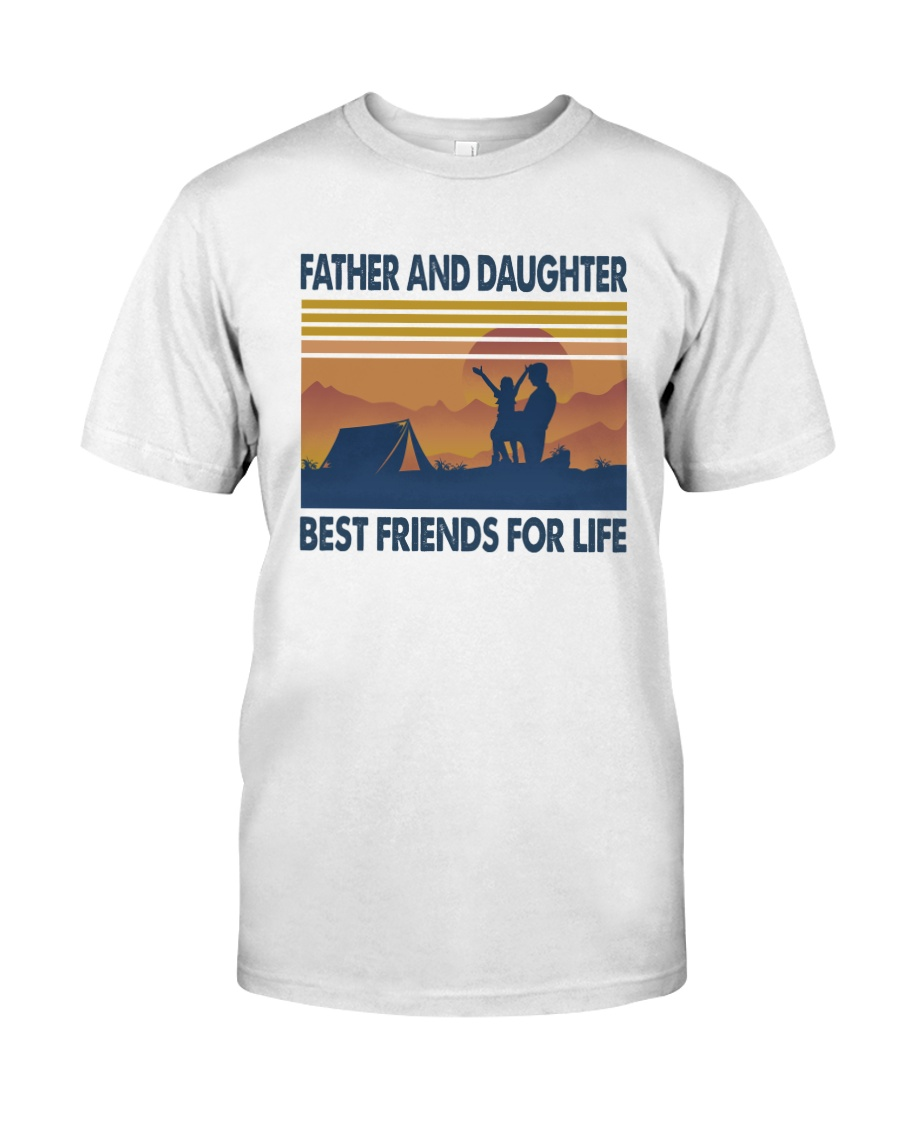 Camping Father Daughter Classic T-Shirt