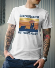 Camping Father Daughter Classic T-Shirt lifestyle-mens-crewneck-front-6