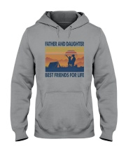 Camping Father Daughter Hooded Sweatshirt thumbnail