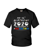 15th Birthday 2020 color Youth T-Shirt thumbnail