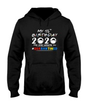 15th Birthday 2020 color Hooded Sweatshirt thumbnail
