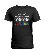 15th Birthday 2020 color Ladies T-Shirt thumbnail