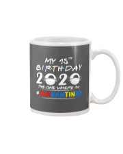 15th Birthday 2020 color Mug thumbnail