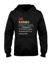 Dad Knows Hooded Sweatshirt thumbnail