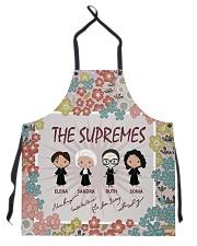 The Supremes apron Apron front