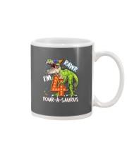 4 Birthday raw dinosaur Mug thumbnail