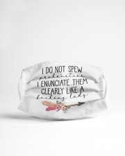I do not spew Cloth face mask aos-face-mask-lifestyle-22