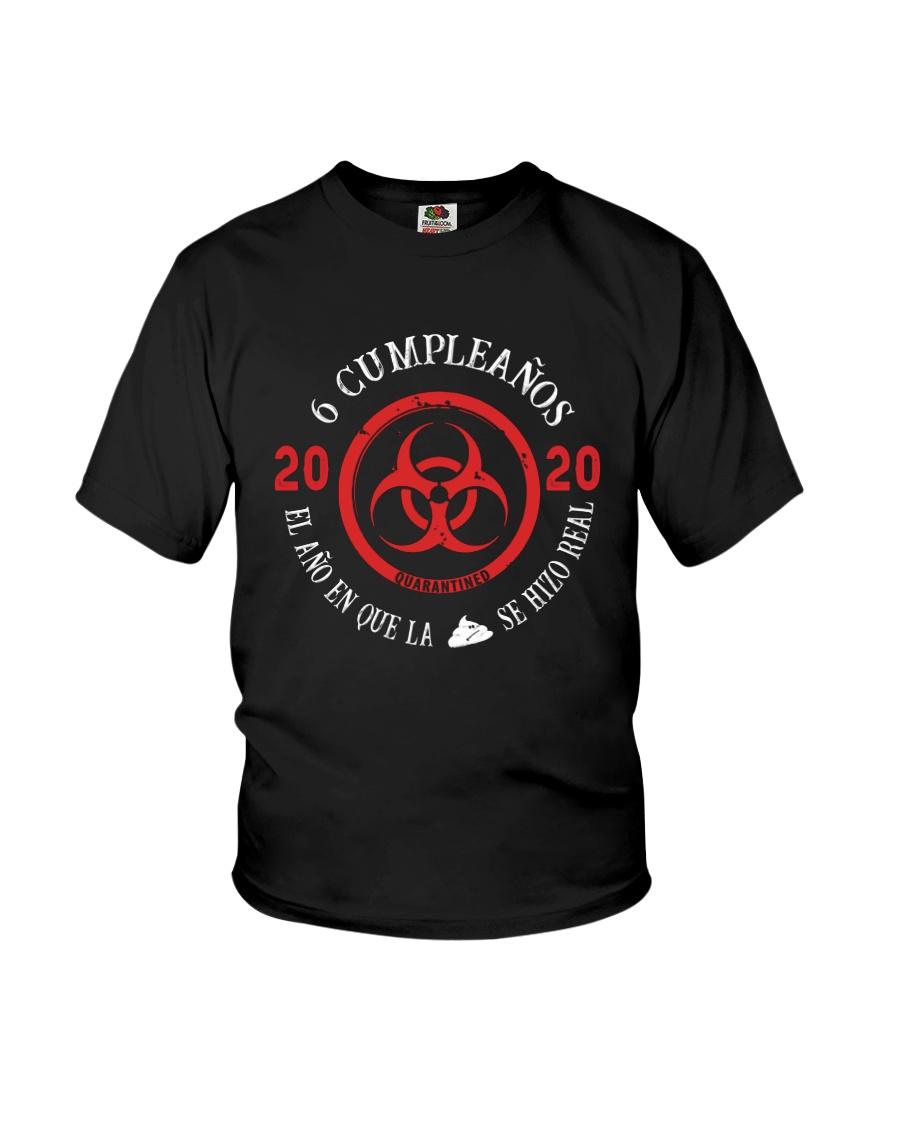 6 Got Real Spanish Youth T-Shirt