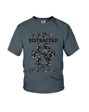 Skiing Easily distracted Youth T-Shirt thumbnail