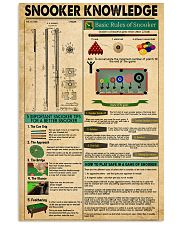Snooker Knowledge 11x17 Poster front