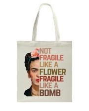 Frida Kahlo fragile mandala Tote Bag thumbnail