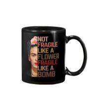 Frida Kahlo fragile mandala Mug thumbnail