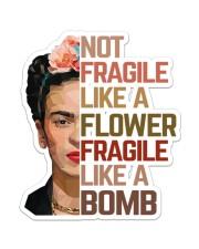 Frida Kahlo fragile mandala Sticker - Single (Vertical) thumbnail