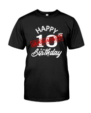 10 slash quarantined birthday Classic T-Shirt thumbnail
