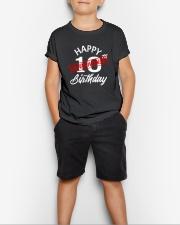10 slash quarantined birthday Youth T-Shirt lifestyle-youth-tshirt-front-1