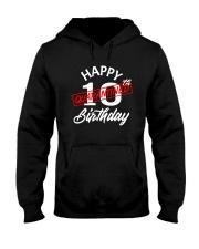 10 slash quarantined birthday Hooded Sweatshirt thumbnail
