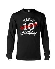 10 slash quarantined birthday Long Sleeve Tee thumbnail