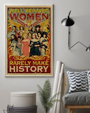 Retro well-behaved women canvas 11x17 Poster lifestyle-poster-1