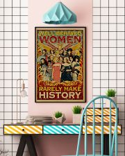Retro well-behaved women canvas 11x17 Poster lifestyle-poster-6