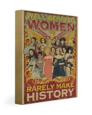 Retro well-behaved women canvas 11x14 Gallery Wrapped Canvas Prints thumbnail