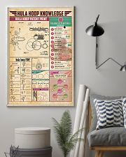 Hula hoop knowledge 11x17 Poster lifestyle-poster-1