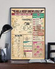 Hula hoop knowledge 11x17 Poster lifestyle-poster-2