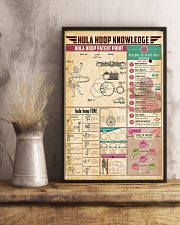 Hula hoop knowledge 11x17 Poster lifestyle-poster-3