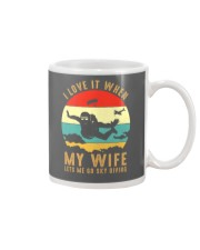 I love it Sky diving Mug thumbnail