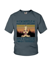 Mostly Yoga Youth T-Shirt thumbnail