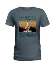 Mostly Yoga Ladies T-Shirt thumbnail