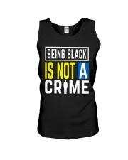 Black Not Crime Unisex Tank thumbnail
