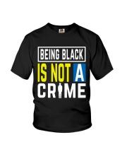 Black Not Crime Youth T-Shirt thumbnail