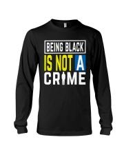 Black Not Crime Long Sleeve Tee thumbnail