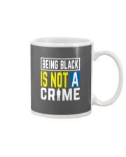 Black Not Crime Mug thumbnail