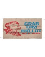 Grab him yard sign Cloth face mask thumbnail