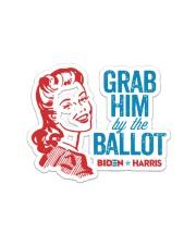 Grab him yard sign Sticker - Single (Horizontal) thumbnail