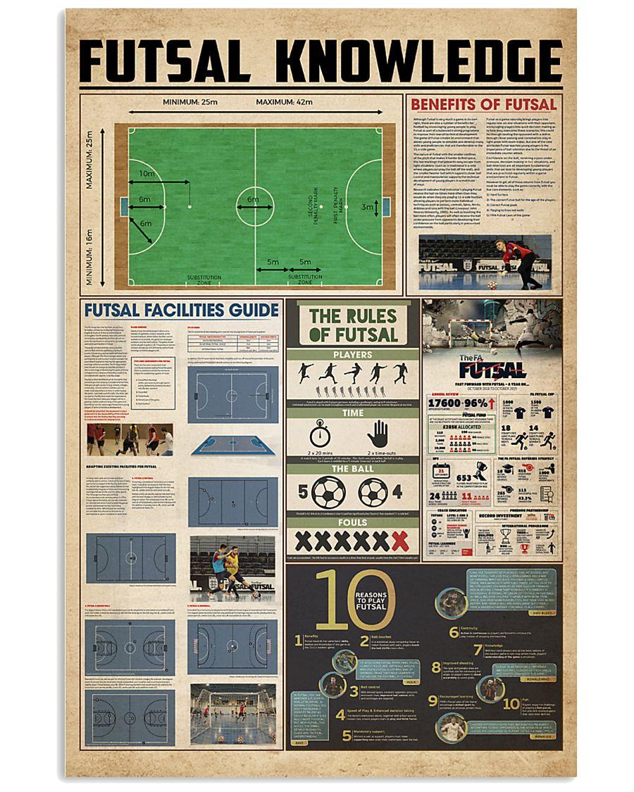 Futsal knowledge 11x17 Poster