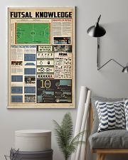 Futsal knowledge 11x17 Poster lifestyle-poster-1
