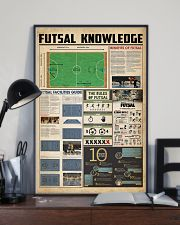 Futsal knowledge 11x17 Poster lifestyle-poster-2