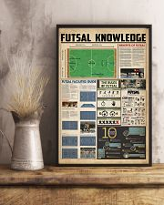 Futsal knowledge 11x17 Poster lifestyle-poster-3
