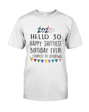 Hello 30 Happy  Classic T-Shirt thumbnail